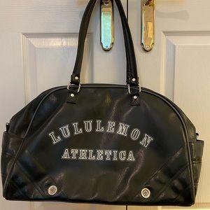 LULULEMON Black Gym/Travel Bag - Like New!